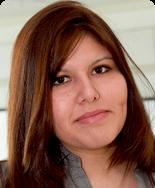Karen Torrejon, '10, majoring in chemistry and physics