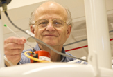 Biologist-chemist and The RNA Institute Director Paul F. Agris