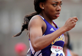A UAlbany runner heads for America East title.