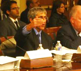 Dean of UAlbany's School of Business Don Siegel, before Congress on March 31.