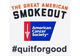 The Great American Smokeout logo