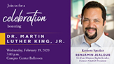 MLK Jr Celebration speaker Benjamin Jealous