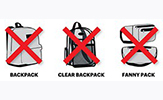 Bag Ban at Casey Stadium
