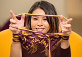 UAlbany MBA student and  LuxeLooks Designs owner Valerie Chew