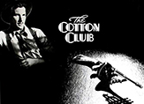 "A black-and-white poster from the 1984 movie ""The Cotton Club"""