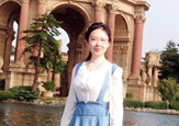 Chinese student Yadi Chen, pictured in San Francisco