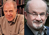 Authors William J. Kennedy and Salmon Rushdie