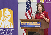 Kathy Hochul at UAlbany