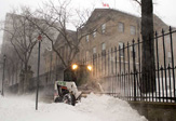 Canadian Ontario Province hit by lake-effect blizzard