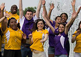 UAlbany Class of 2018 jumps for joy at orientation