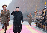Goose-stepping with Kim
