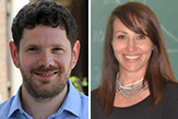 Timothy Weaver and Angela VanDerwerken are among the new faculty at Rockefeller College.