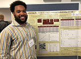 Austin Roberts of the School of Public Health, who won an award for his research on arsenic.