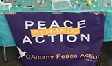 University at Albany student peace group