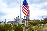 UAlbany ROTC raises flag on Veterans Day