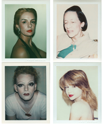 From the collection of Andy Warhol photographs