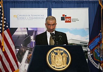 College of Nanoscale Science and Engineering Senior Vice President and CEO Alain Kaloyeros
