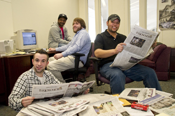 Student journalists of the Albany Student Press