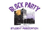 The Student Association block party is September 25.