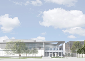 UAlbany campus center expansion