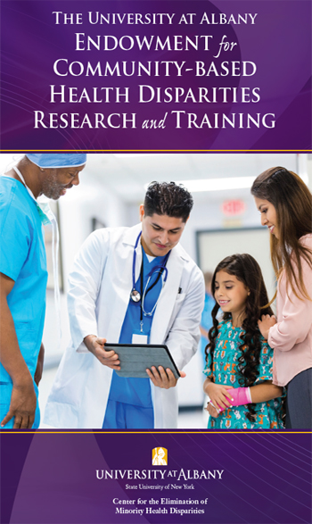 UAlbany $10 Millon Endowment for Minority Health Disparities Education and Research