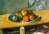 Cezanne's Peaches, Pears and Grapes