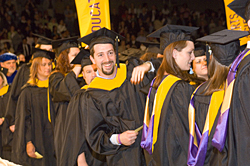 UAlbany-SUNY soon-to-be graduates at commencement
