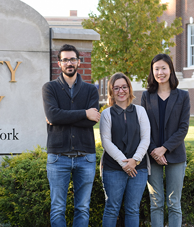 UAlbany researchers Charalampos Chelmis, Daphney-Stravoula Zois and Wonhyung Lee