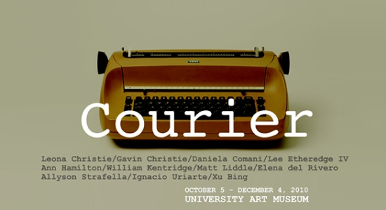 Courier Exhibit at UAlbany Oct. 5 Through December 4, 2010