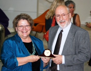 Provost Susan D. Phillips and CTG's Anthony Cresswell