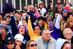 UAlbany Day events will lead up to UAlbany's homecoming football game against the St. Francis Red Flash, which will be followed by a grand fireworks display at University Field.