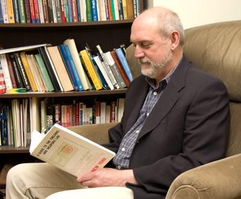 Criminal Justice Professor Alan Lizotte, executive director of the Hindelang Criminal Justice Research Center