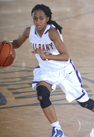 UAlbany junior Felicia Johnson