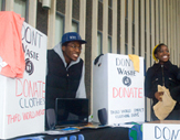 UAlbany students collect clothing for donations to help those in need