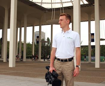UAlbany student Max Morgan