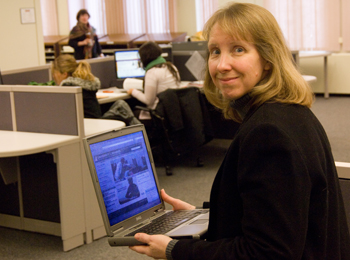 UA Libraries' Trudi Jacobson