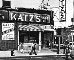 Katz's Deli, New York City