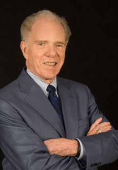 William Kennedy, founder and executive director of the New York State Writers Institute at the University at Albany