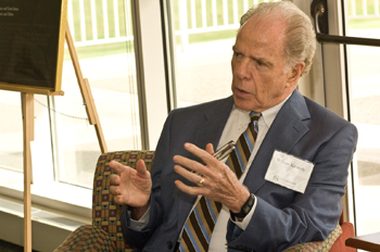 William Kennedy at the University at Albany