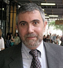 Paul Krugman, Nobel Prize winning columnist