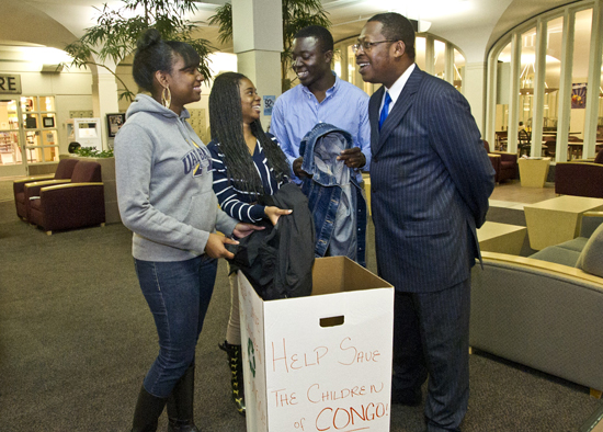 UAlbany students initiate clothing drive for Save Congolese Children, Corp.