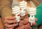 Compact florescent lightbulbs