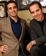 Monte and Avery Lipman, '86, '88