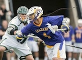 Lyle Thompson UAlbany Lacrosse