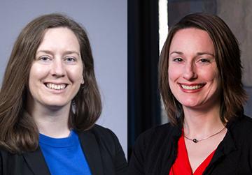 Rockefeller College professors Lucy Sorensen and Erika Martin
