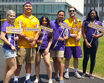 orientation student leaders at UAlbany