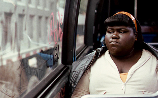 A scene from the film Precious, starring Gabourey Sidibe