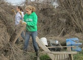 UAlbany students assist cleanup efforts in Schoharie, NY
