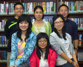 University at Albany students from China