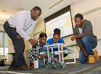 Summer research program for kids UAlbany